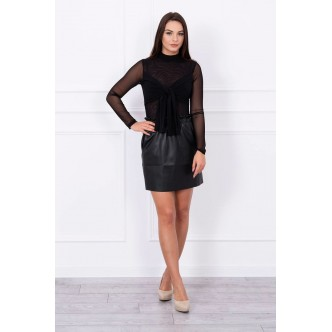 Body blouse tulle black