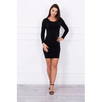 Dress with bare backs black