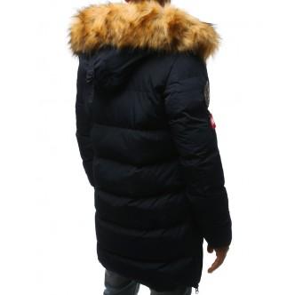 Pánska zimná bunda prešívaná námorníctva (tx2330)