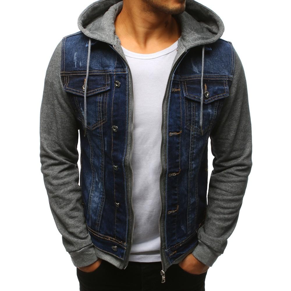Pánska džínsová bunda 0d361ce566