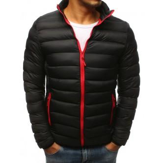 Pánska zimná bunda prešívaná čierna (tx2423)