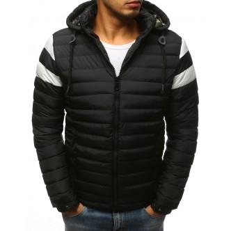 Pánska zimná bunda prešívaná čierna (tx2398)