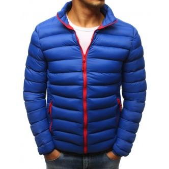 Pánska zimná bunda prešívaná modrá (tx2425)