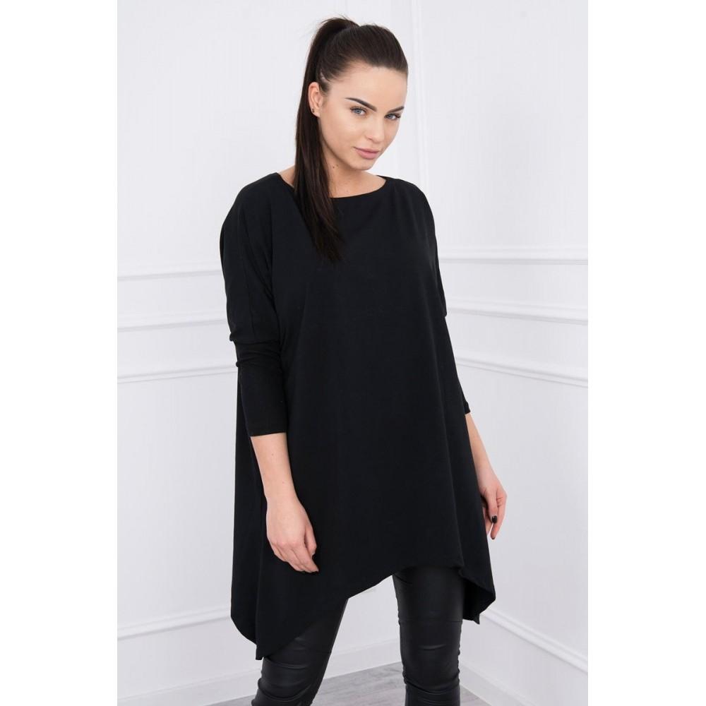 Blouse oversize black