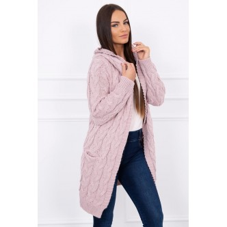Sweater Arizon powdered pink