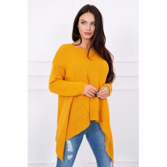 Sweater Fox dark mustard