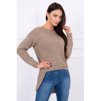 Sweater Tura dark beige