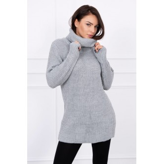 Sweater with golf gray