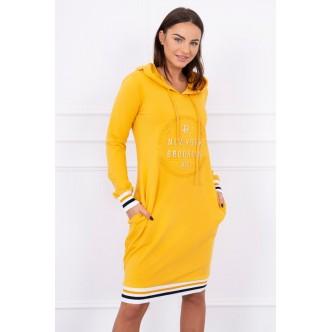 Dress Brooklyn mustard