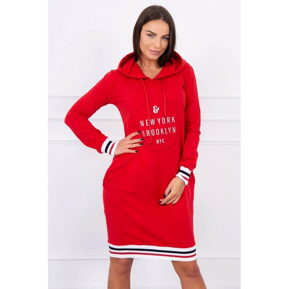 Dress Brooklyn red
