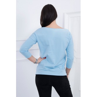 Blouse Casual azure