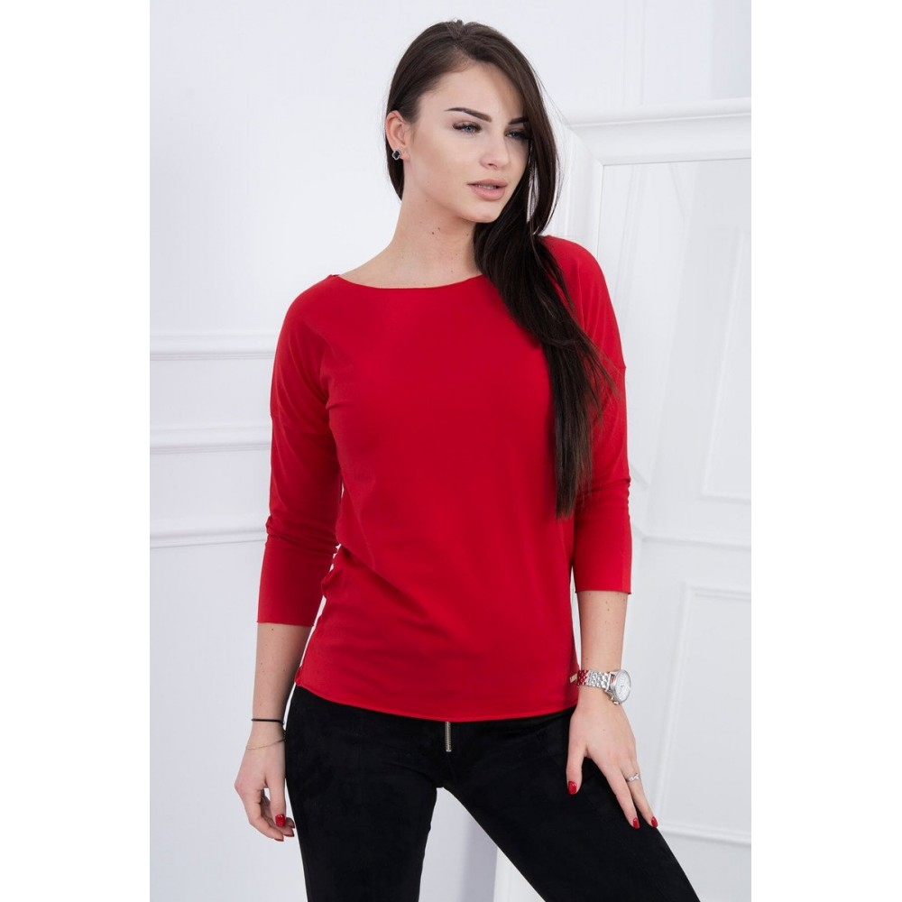 Blouse Casual red