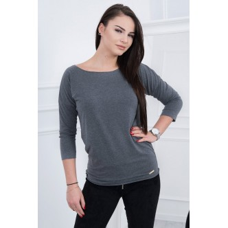 Blouse Casual graphite melange