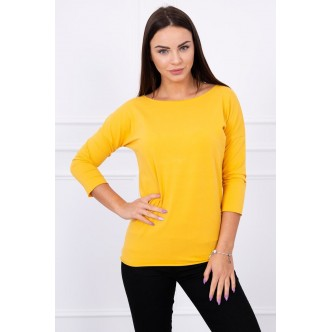 Blouse Casual mustard