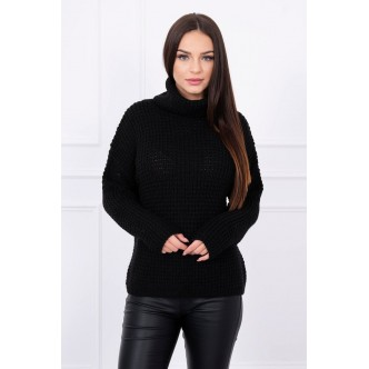 Sweater with turtleneck black